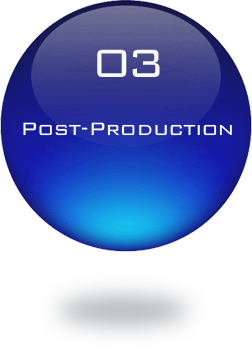 03 POST-PRODUCTION | 制作の流れ